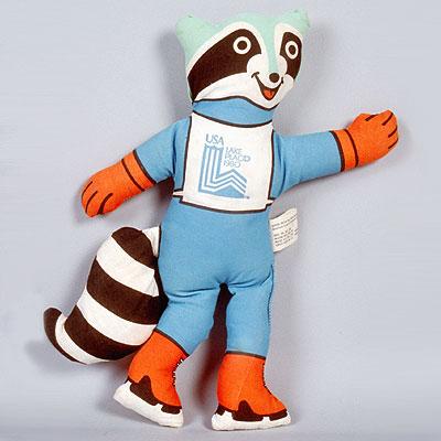 Талисман (mascot) зимней Олимпиады LAKE PLACID (США)1980 года