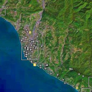 Сочи на карте wikimapia.org