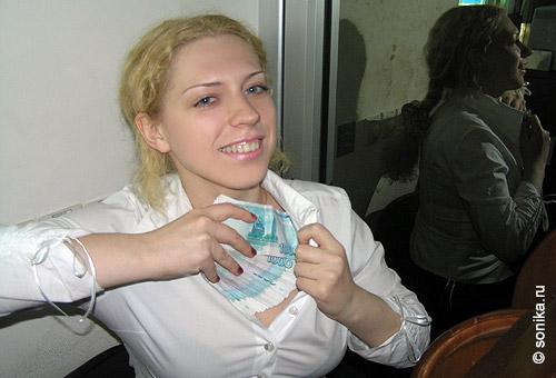 Стриптиз блоггеров декабрь 2007
